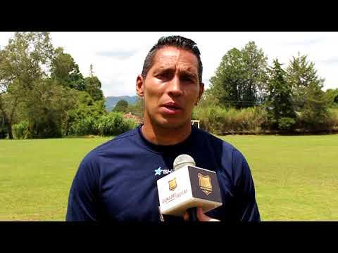 John Javier Choronta Restrepo habla previo al juego frente al Pasto.
