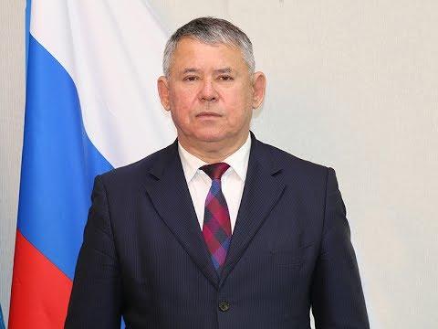 Поздравление главы Мегиона Олега Дейнека с Днем России