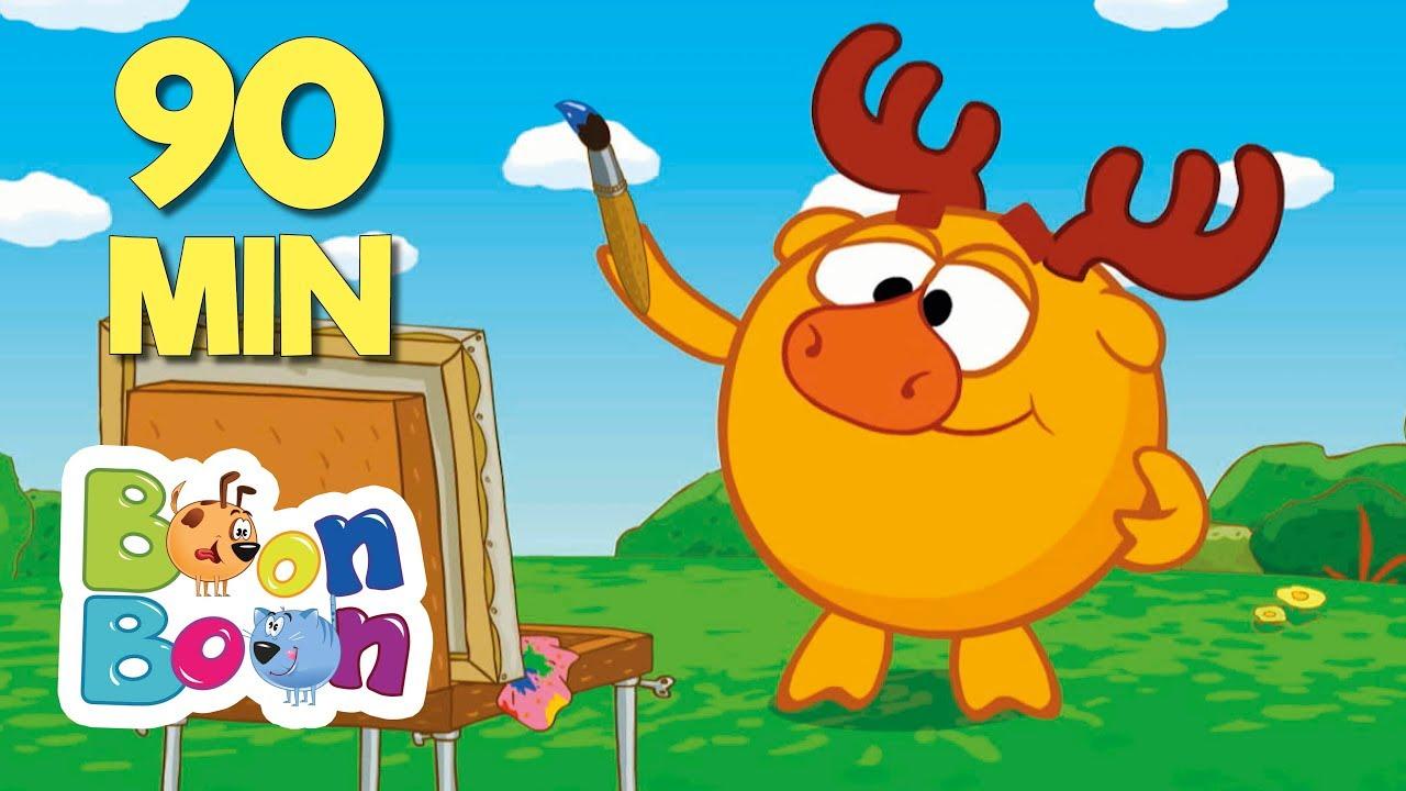 KikoRiki 90MIN - (Să desenăm) Desene animate   BoonBoon