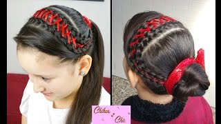 Corset Braid Headband! | Braided Hairstyles | Headband