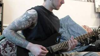 "Heaven Shall Burn- ""Of Forsaken Poets"" guitar cover"