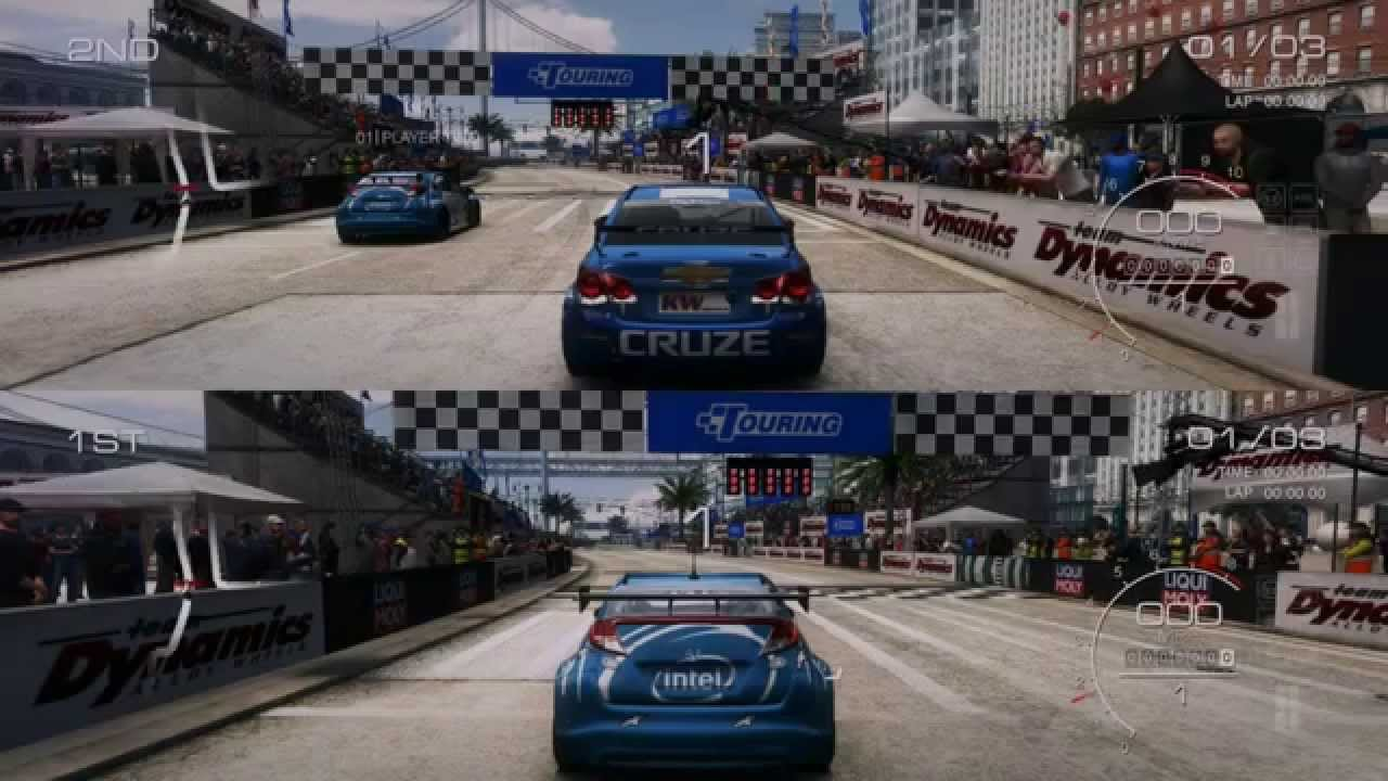 GRID Autosport Splitscreen PC How To Play