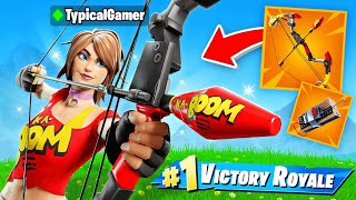 The EXPLOSIVES *ONLY* CHALLENGE in Fortnite! (IMPOSSIBLE)