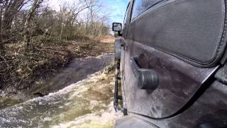 Jeep Creek Crossing - Who Needs A Bridge When You Drive A Jeep!  Water Fording
