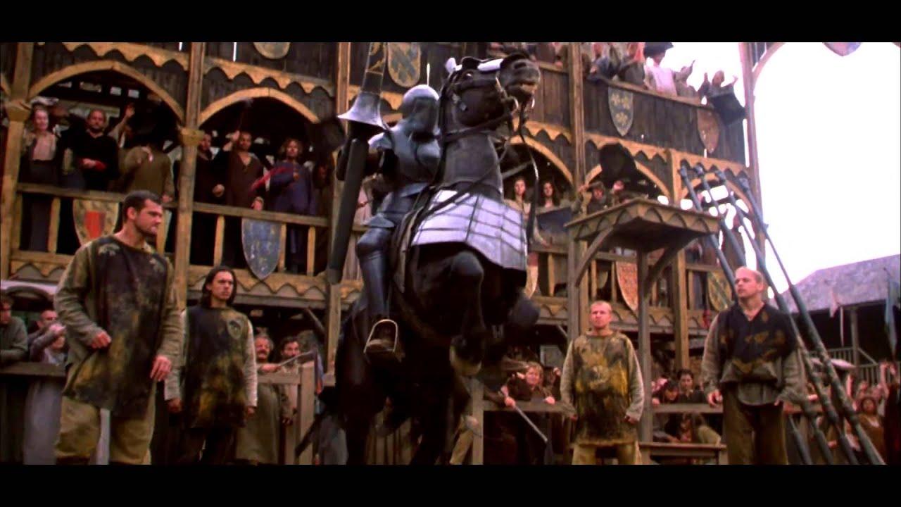 【歐美電影】騎士風雲錄「A_Knight's_Tale」《電影預告》HD畫質 - YouTube
