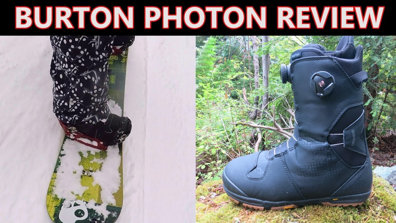 Burton Photon Snowboard Boot Review - YouTube 720d41d4fad