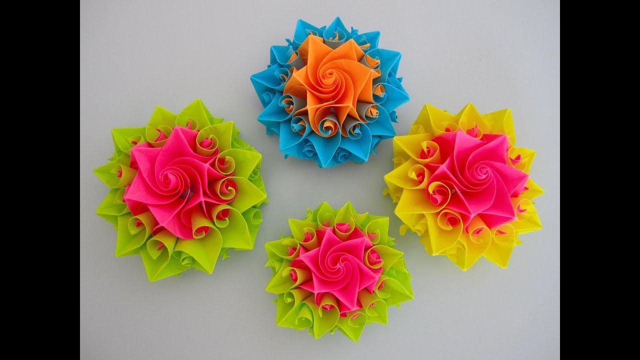 Diy schne origami blume beautiful origami flower youtube diy schne origami blume beautiful origami flower mightylinksfo
