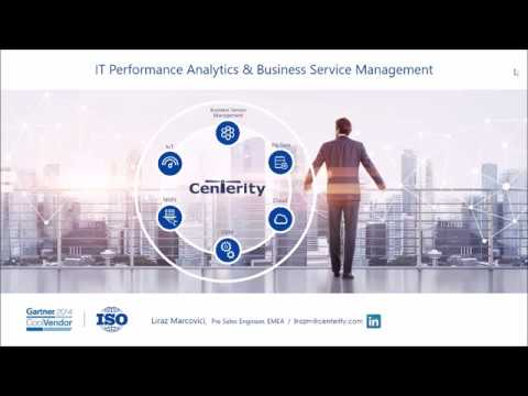 IT Performance and Business Service Management