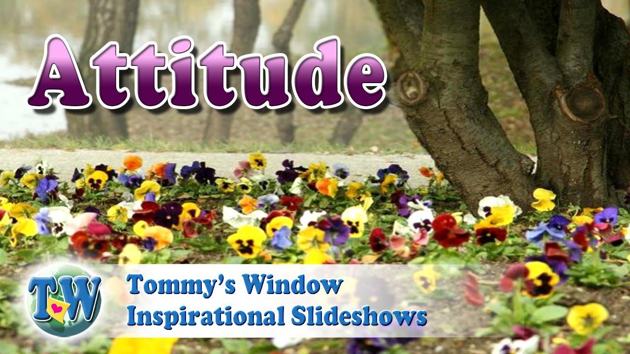 4a6bb9da0b17 Attitude - Tommy s Window Inspirational Slideshow - YouTube