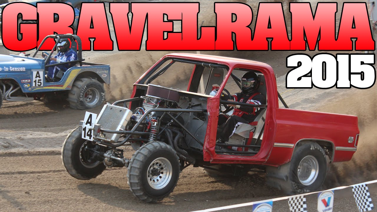 Types Of Jeeps >> Gravelrama 2015: Uphill Sand drag racing - YouTube