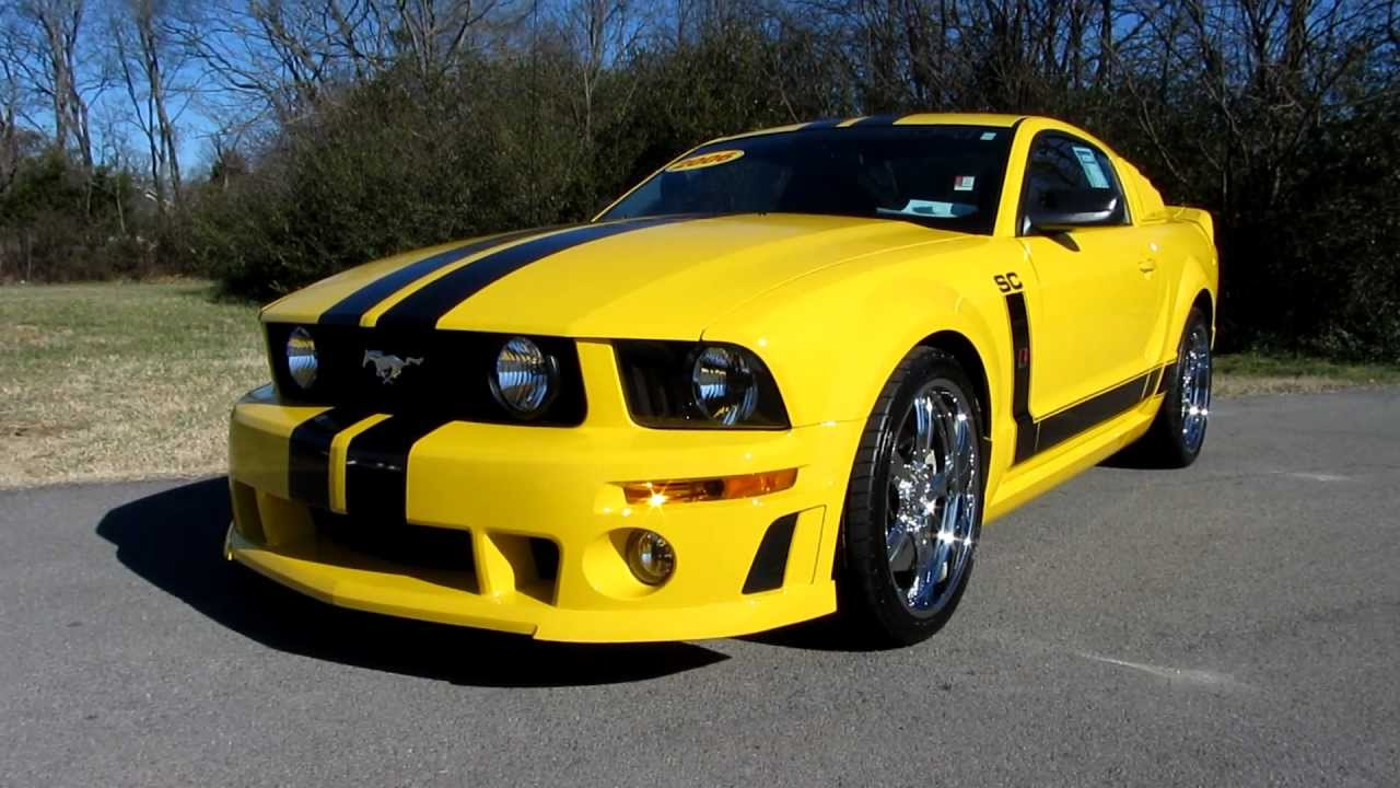 sold 2006 roush mustang super charged 435 hp call ford of murfreesboro at 888 653 8056 youtube. Black Bedroom Furniture Sets. Home Design Ideas
