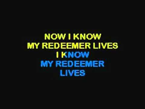 my redeemer lives lyrics pdf