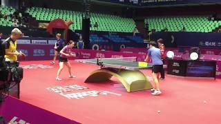 女子ワールドカップ2018 石川佳純 前日練習