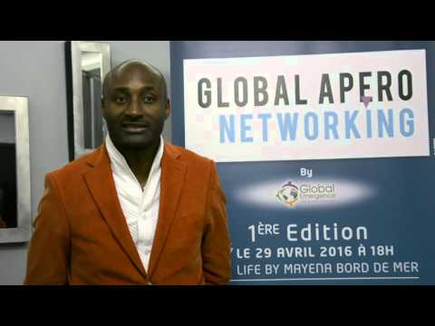 Global Apero Networking: Invitation Alain DOLIUM