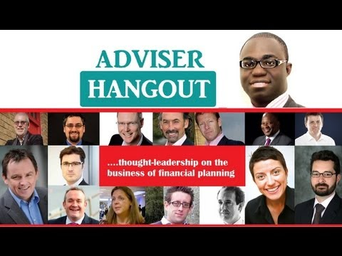 AdviserHangout: Social Media As Client Acquisition Tools for Financial Advisers