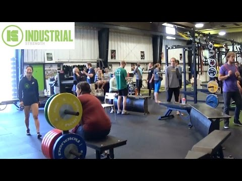 E60 - Industrial Strength Gym - Tactical Strength Challenge - Portland, OR