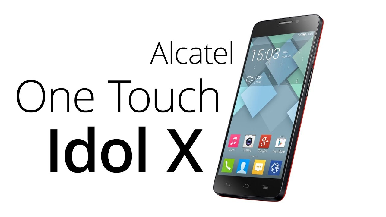 Alcatel One Touch Idol Libre Alcatel One Touch Idol X Recenze Youtube
