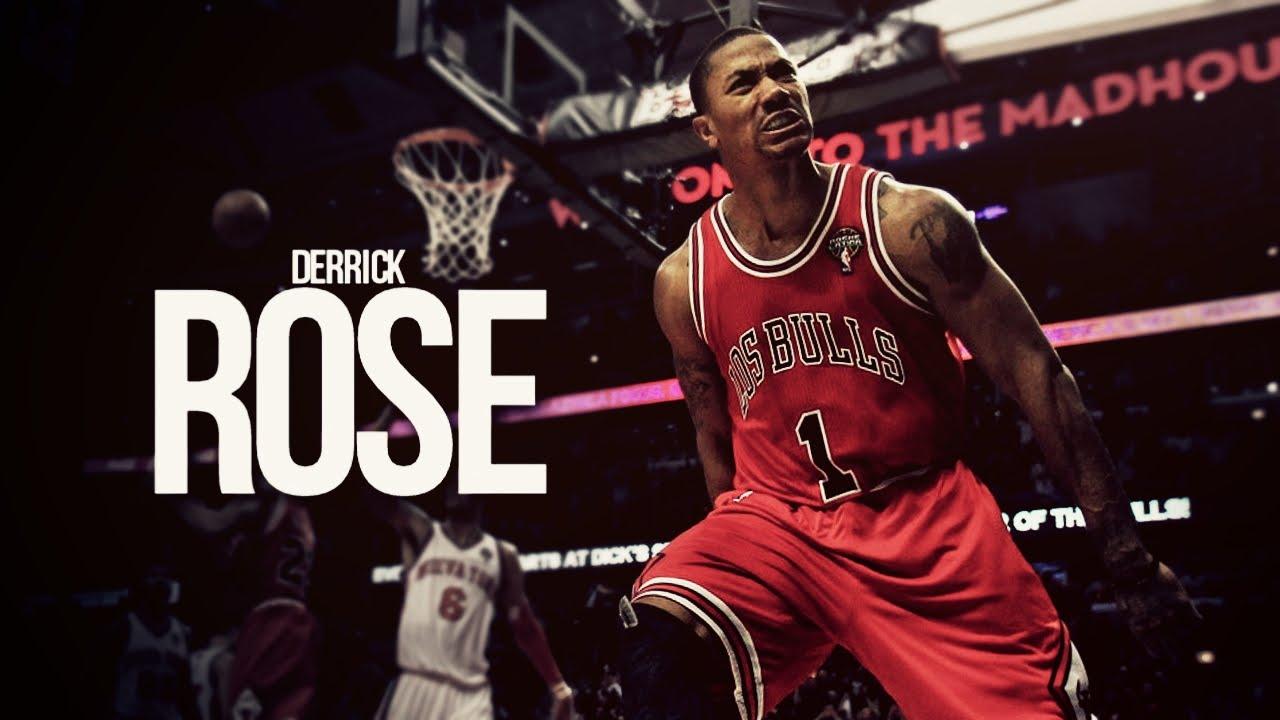 Myndaniðurstaða fyrir derrick rose chicago bulls dunk
