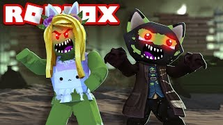 We are transforming into ZOMBIES!! Roblox [English/HD]