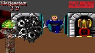 Wolfenstein 3D Beta SNES Let's Play - It's Finally Advertiser Friendly