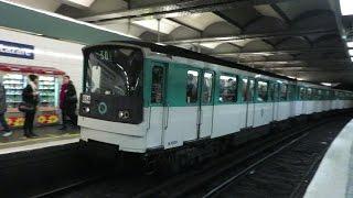 [Paris] MF67 Métro 3 - Saint-Lazare