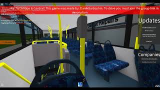 ROBLOX | Route 343: Rocky Hills Terminal 1A To Heath Road Station