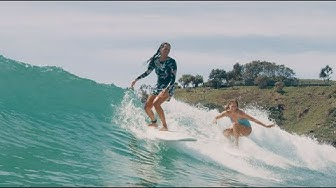 How to Surf with Stephanie Gilmore Lesson #3: Wave Selection & Surf Etiquette
