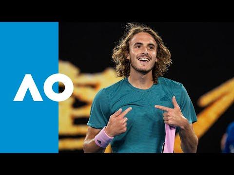 Stefanos Tsitsipas v Roger Federer match highlights (4R) | Australian Open 2019 Mp3