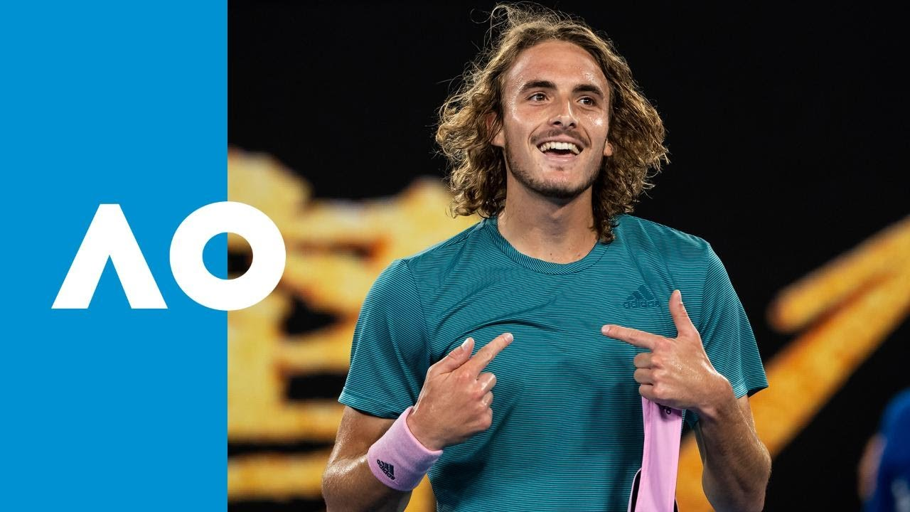 Stefanos Tsitsipas v Roger Federer match highlights (4R) | Australian Open 2019