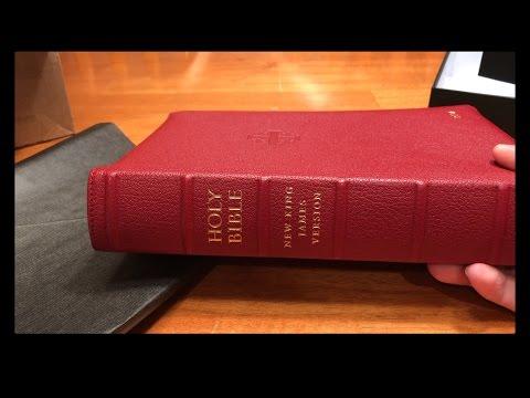 Schuyler Quentel NKJV Bible: Firebrick Red, Goatskin (Unboxing & Mini-Review)
