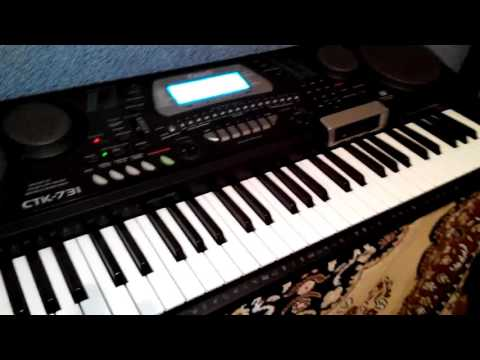 Смотреть клип Синтезатор Casio CTK 731  стиль Roland автор музыки   Vladimir Alegrub онлайн бесплатно в качестве