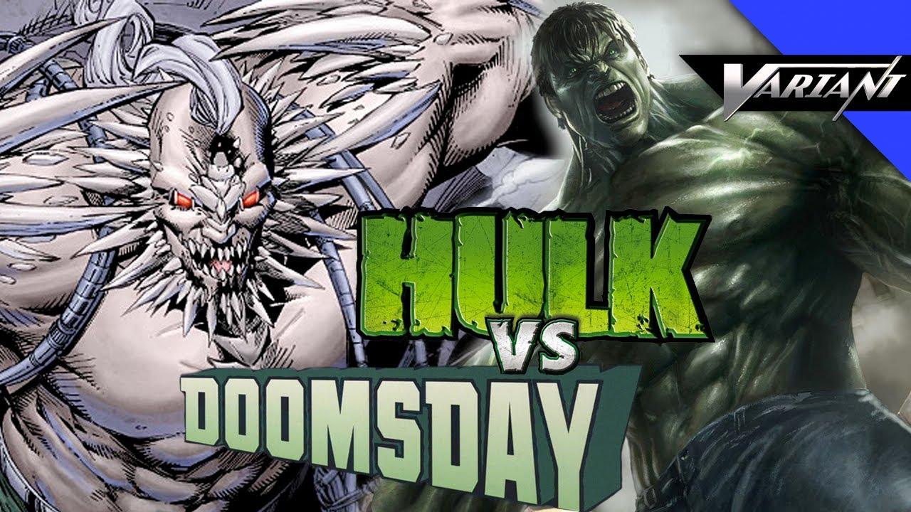 Hulk VS Doomsday: Epic Battle! - YouTube Doomsday Vs Hulk Death Battle