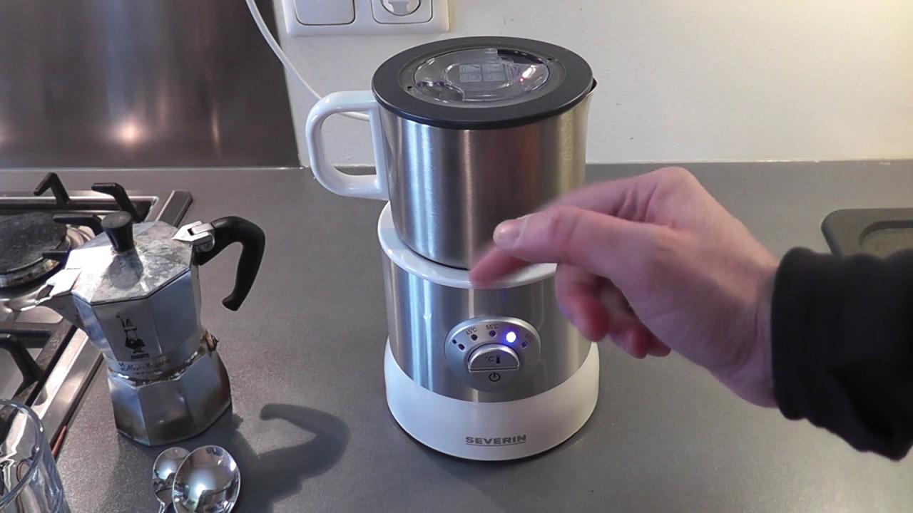 Der Severin SM 9685 Milchaufschäumer im Test