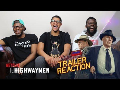 The Highwaymen Official Trailer Reaction