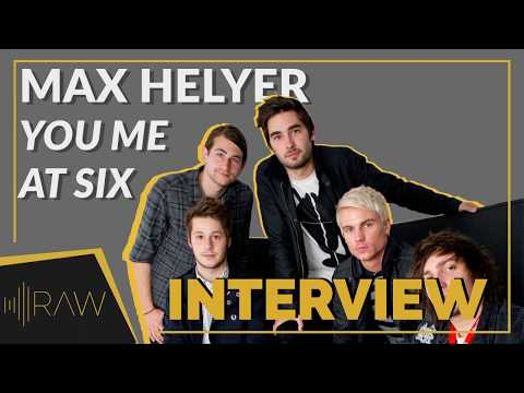 Max Helyer - You Me At Six | RAW Interviews