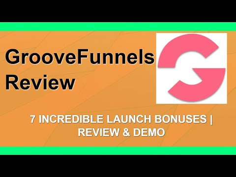 GrooveFunnels Review | Limited Launch Bonuses | Complete Package thumbnail
