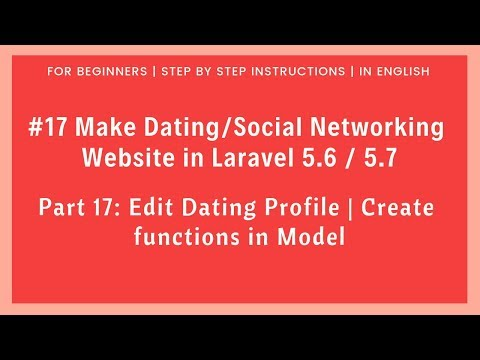 laravel dating website