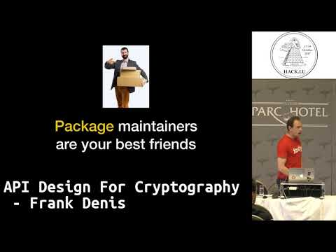 Hack.lu 2017 API design for cryptography by Frank Denis