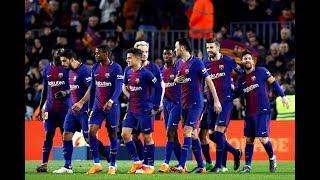 ملخص مباراة برشلونة واولمبيك ليون 13-03-2019 دوري ابطال اوروبا