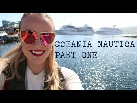 Oceania Nautica - Cabin Tour and meeting Mickey Mouse!