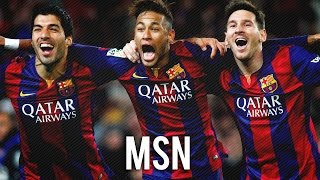 Messi Neymar Suarez  - All League Goals - 2015 / 2016 - MSN