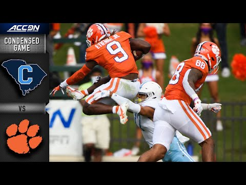 Citadel vs. Clemson Condensed Game | 2020 ACC Football |