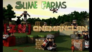 Slime  Farm and chunk Tutorial 1.8,1.9,Vanilla Plus mob Information with ZNOneManClan