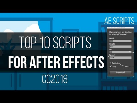 Top 10 BEST After effects scripts of All-time   2018