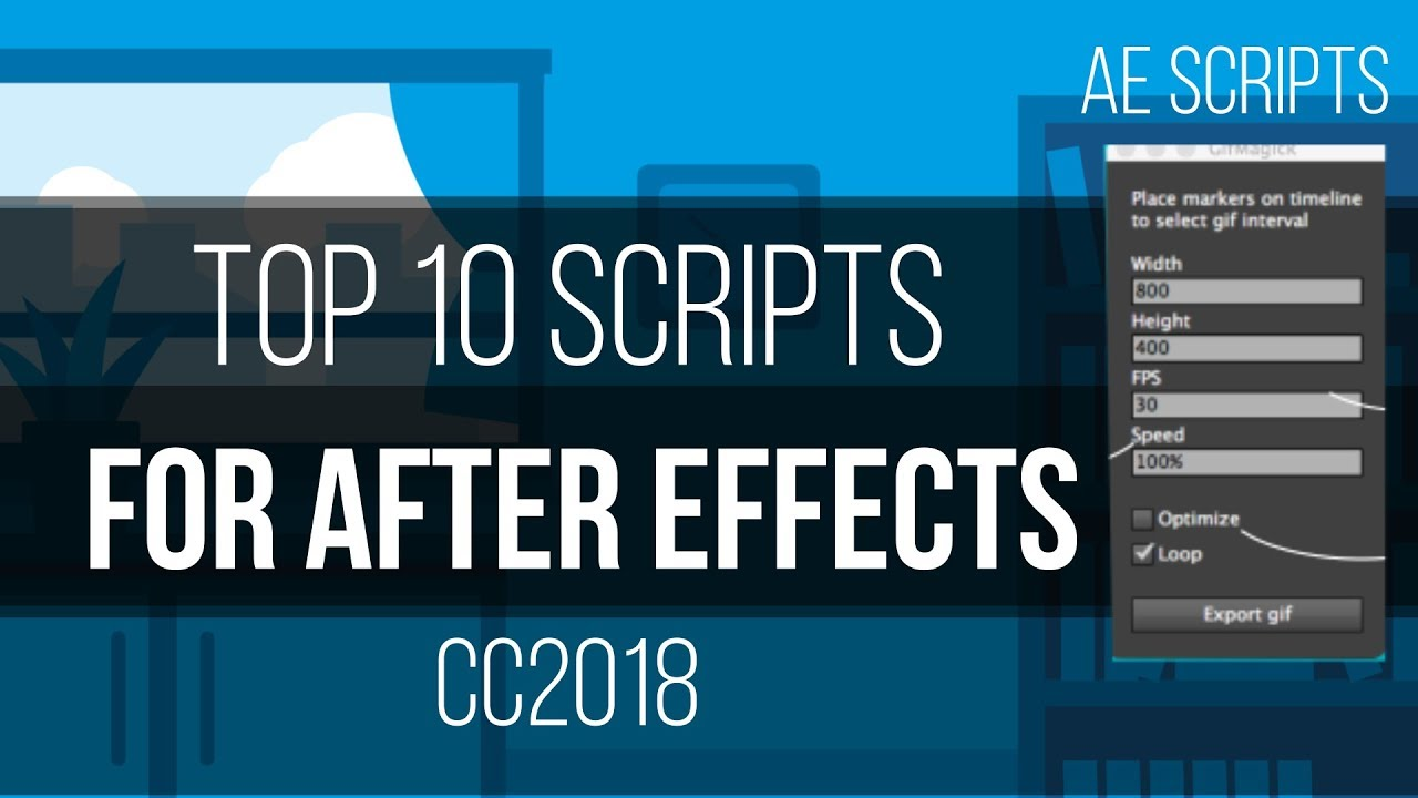 Top 10 BEST After effects scripts of All-time | 2018