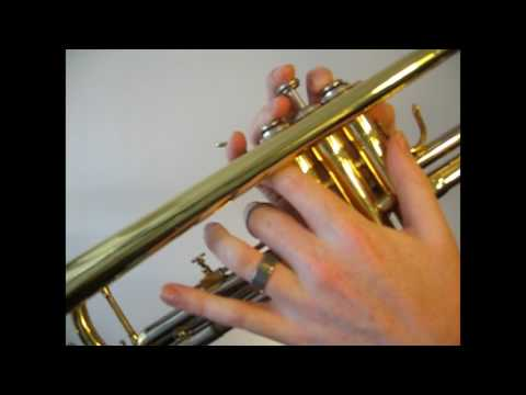 Learn to play A major scale on Trumpet