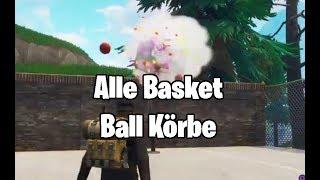 Fortnite: Basketball Körbe - Alle Locations (S5W2) [German/Deutsch] [HD]