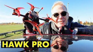 """EMAX Hawk Pro - Too Fast For Humans - The Fastest Mini 5"""" Race FPV Quad Drone - Review"""