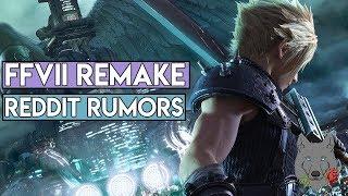 Final Fantasy VII Remake - Huge Reddit Rumor's!