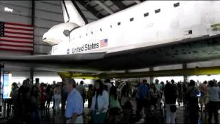 Space Shuttle Endeavour at the Science Museum in Exhibiton Park, Los Angeles